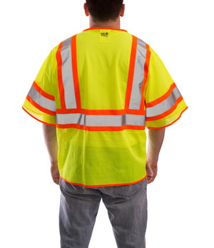 Job Sight™ Class 3 Two-Tone Mesh Vest - tingley-rubber-us