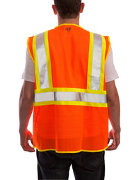 Job Sight™ Class 2 Two-Tone Mesh Vest - tingley-rubber-us