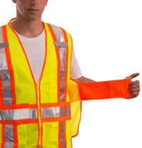 Job Sight Class 2 Adjustable Vest