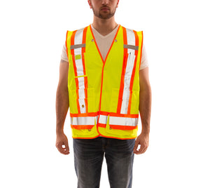Job Sight Class 2 X-Back Surveyor Vest