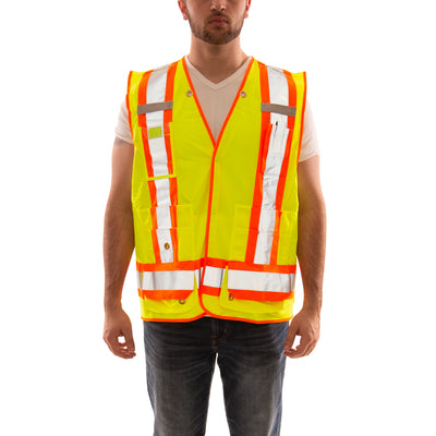 Job Sight™ Class 2 X-Back Surveyor Vest