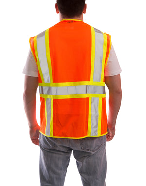Job Sight™ Class 2 Two-Tone Surveyor Vest - tingley-rubber-us