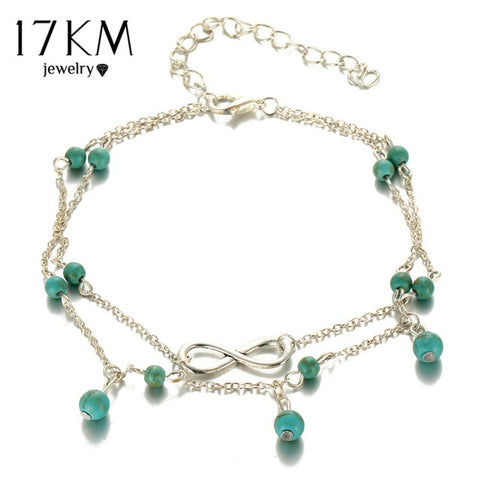 Beads Pendant Anklet Foot Chain For Woman - mem8store