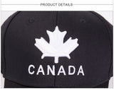 2019 New Brand CANADA Letter Cotton Embroidery Baseball Caps - mem8store
