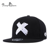 Fashion Classic 5 Panels Cotton Snapback Cap 3D X