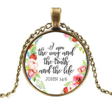 Jesus Jewellry I am the way the truth and the lifeChristian Quote - mem8store