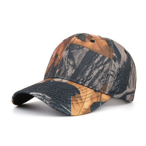 Snapback Hat Hip-Hop Adjustable Tactical Outdoor Camouflage Sports Hat Summer Fall - mem8store