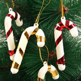 12PC Candy Cane Christmas Xmas Tree Hanging Festive Party
