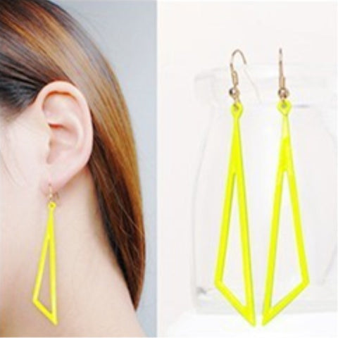 Hollow Drop Earrings For Women Fashion - mem8store