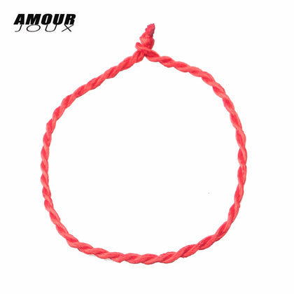 Red Thread String Dual Layer Adjustable Chain Bracelets - mem8store