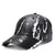 Baseball Caps For Men New Design Snake Skin Pattern Snapback Hats