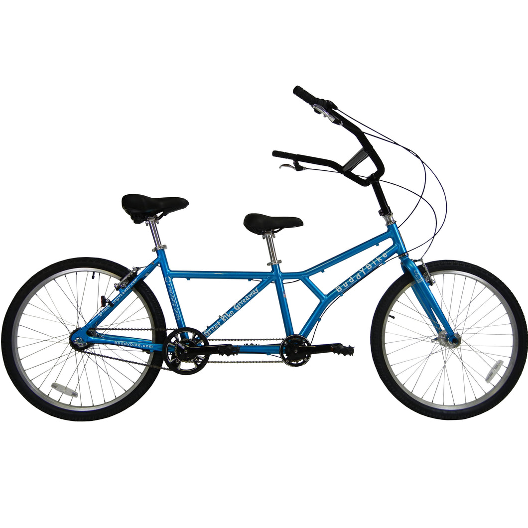 Buddy Bike Family Economy in Custom Blue - Demo For Pick Up in Chino CA