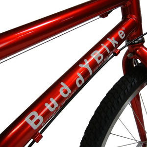 Buddy Bike Family Classic 8 Speed, Chrome Red, BB102-AL-8.17C