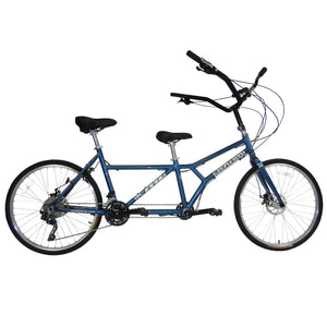 Buddy Bike Sport 30 Speed, Steel Blue & Silver, BB104-AL-30.17