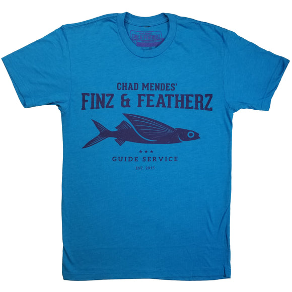 Blue Flying Fish T