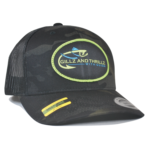 G&T Badge Hat - Black Multicam