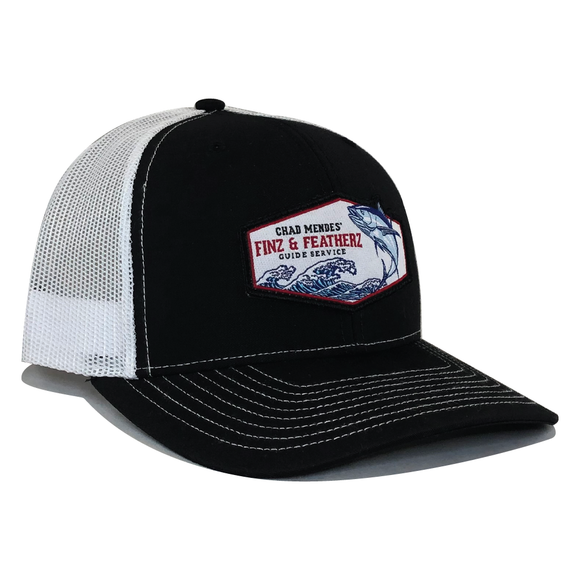 Shogun Hat - Black & White