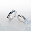 The Great Wave Ring  · Sterling Silver with Enamel Plating