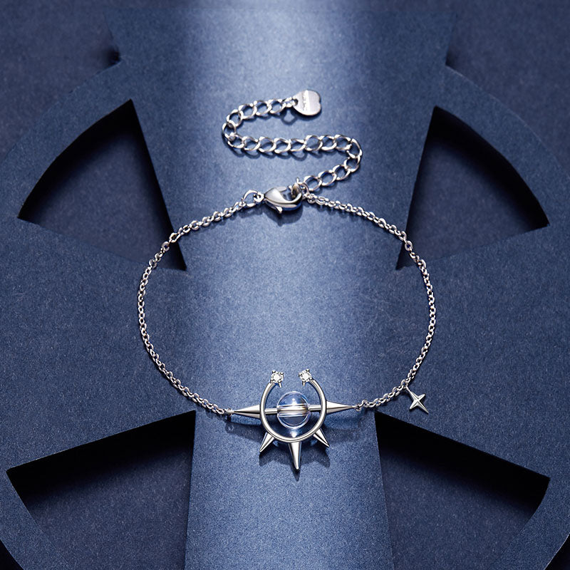 Magical Sparkling Star Bracelet · 18K Gold Plated with Crystal Zircon