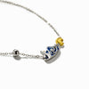 Van Gogh's Starry Night Necklace · Sterling Silver with Cloisonne Enamel Pendant