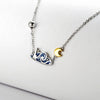 Van Gogh's Starry Night Jewelry Set  · Sterling Silver with Cloisonne Enamel