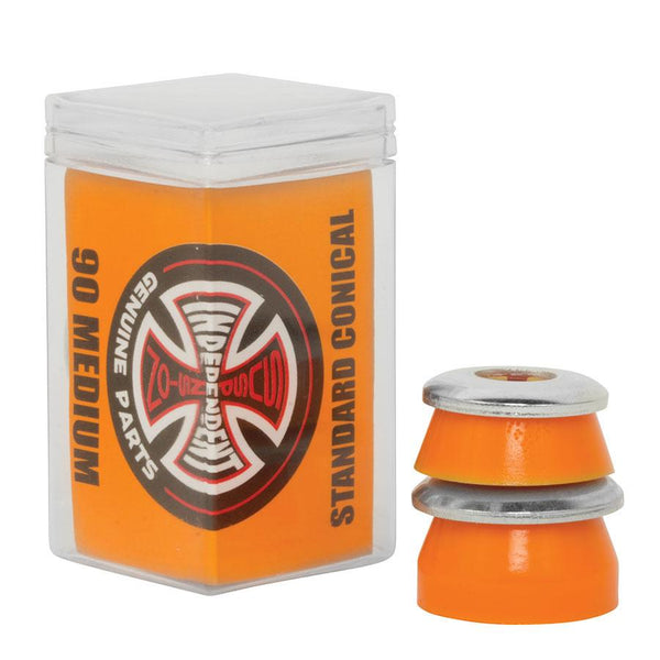 Independent Orange Standard Conical 90A Skateboard Bushings