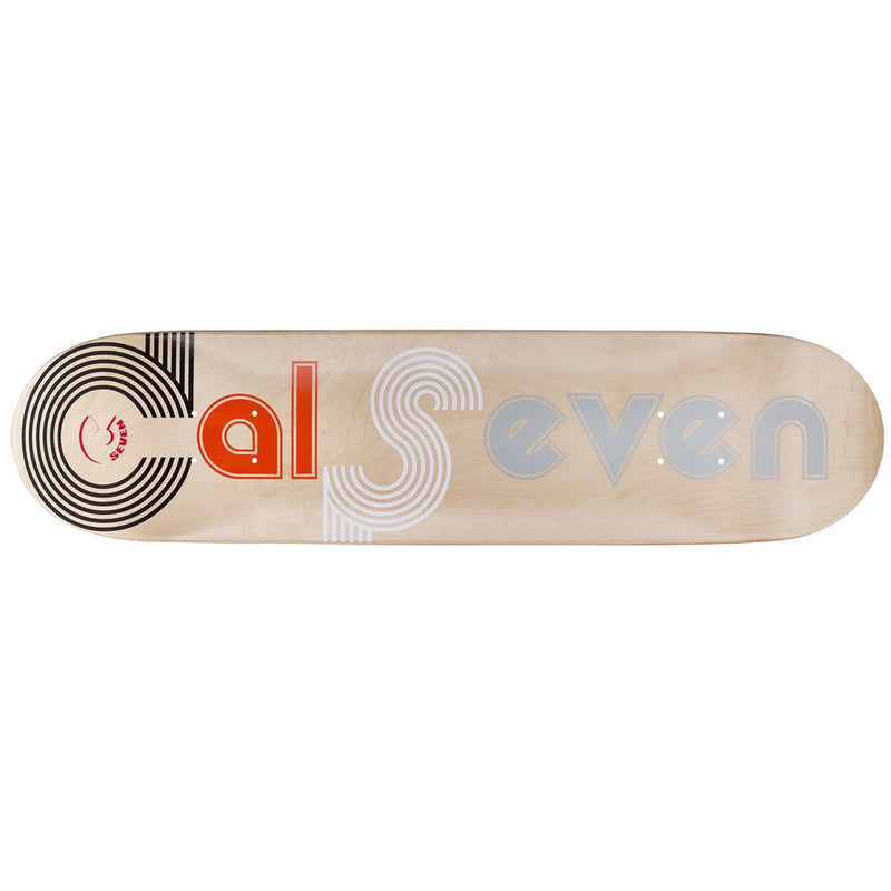 Cal 7 Studio City Skateboard Deck Canadian Maple 8.25 Inch Popsicle Trick