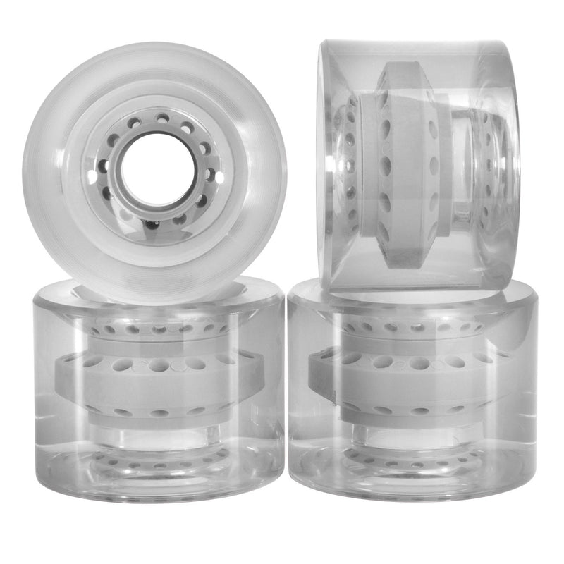 Cal 7 Polyurethane Skateboard Transparent Wheels for Street and Park 60x44 83A