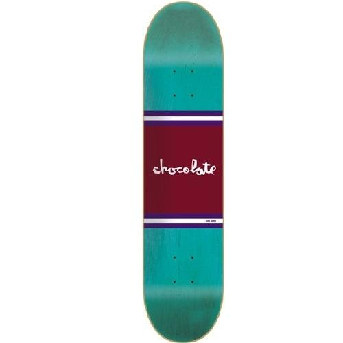 Chocolate 8.5 Inch Tershy Team Stripe Skateboard Deck