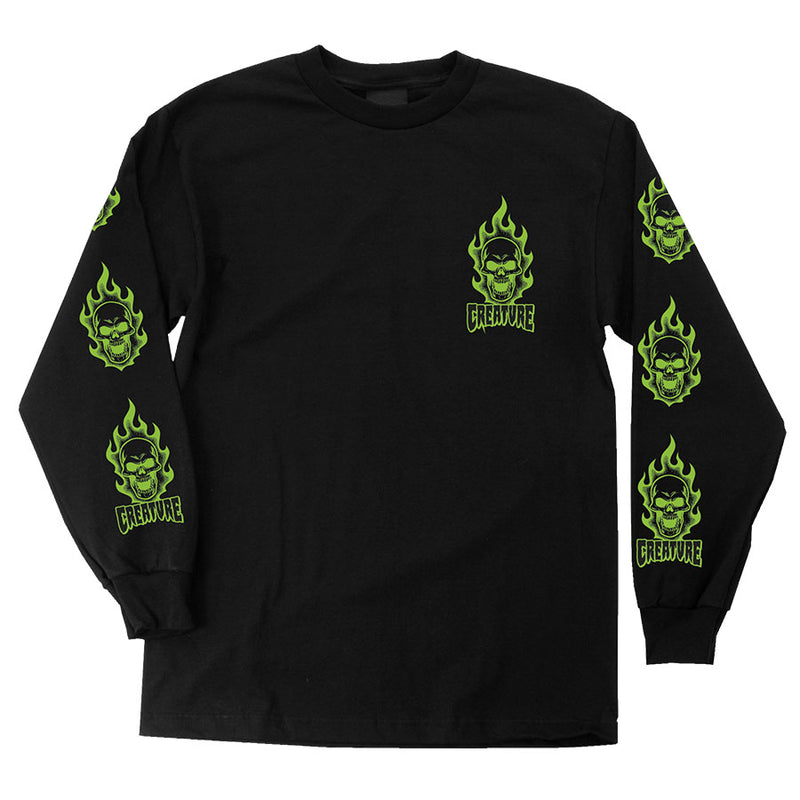 Creature Bonehead L/S Regular T-Shirt Men's
