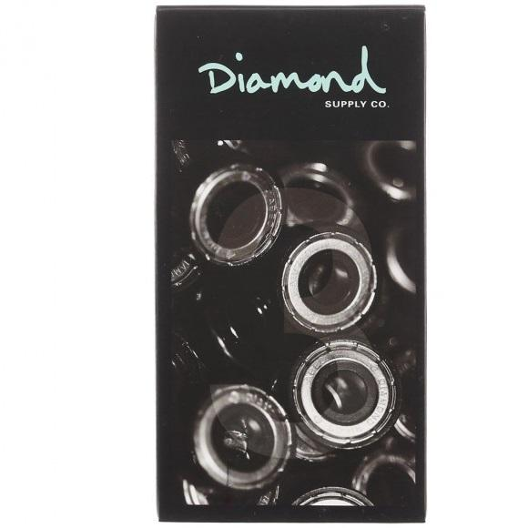 Diamond Rings Hella Fast ABEC 3 Skateboard Bearings