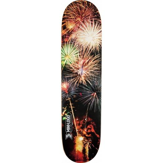 "Mini Logo 8.25"" Small Bomb Firework Skateboard Deck"