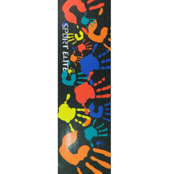 Sport Elite Handprints Skateboard Griptape