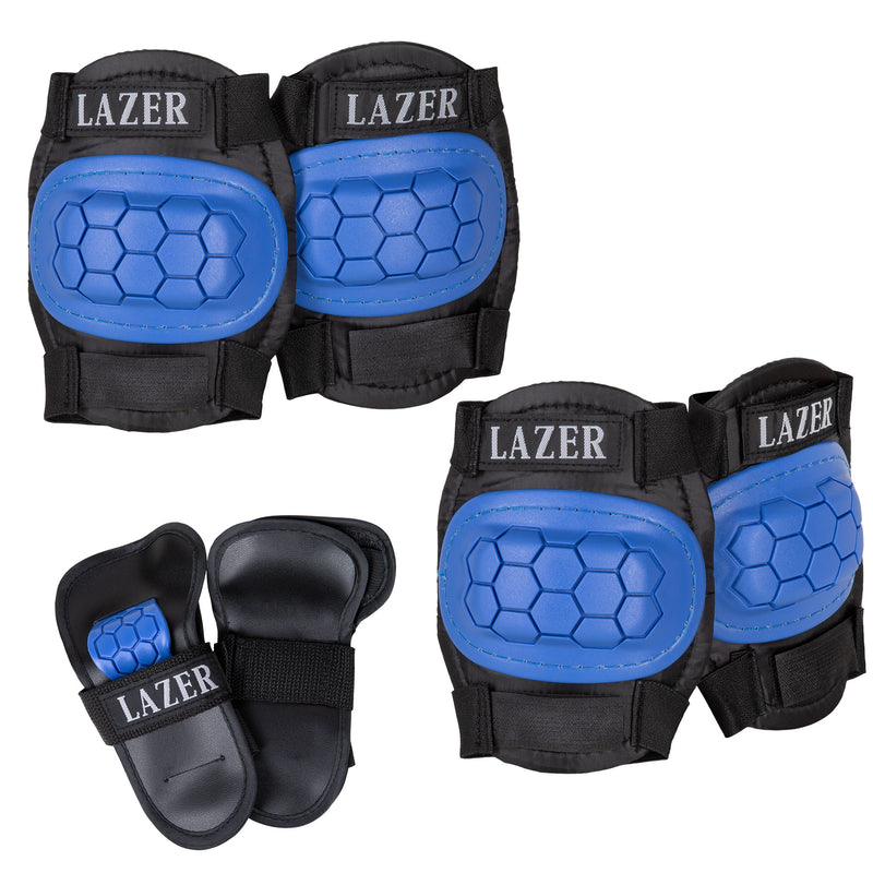 LAZER 3-in-1 Protective Pad Set with Mesh Bag