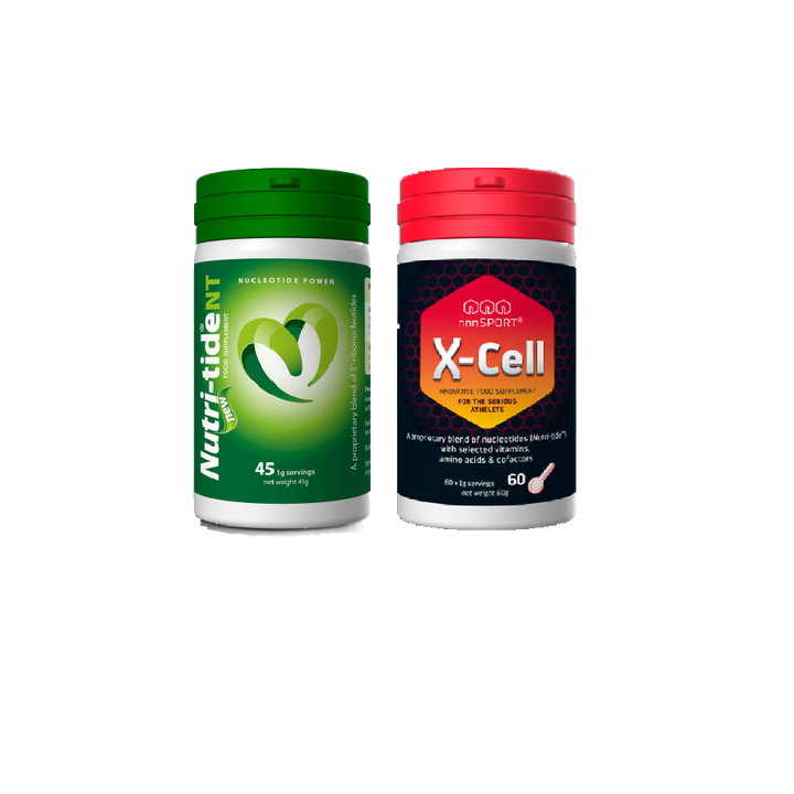 Nutri-tide®️NT and nnnSport®️X-Cell nucleotides, food for special medical purposes in Australia. These RNA supplements contain nucleotides extracted from brewers yeast.
