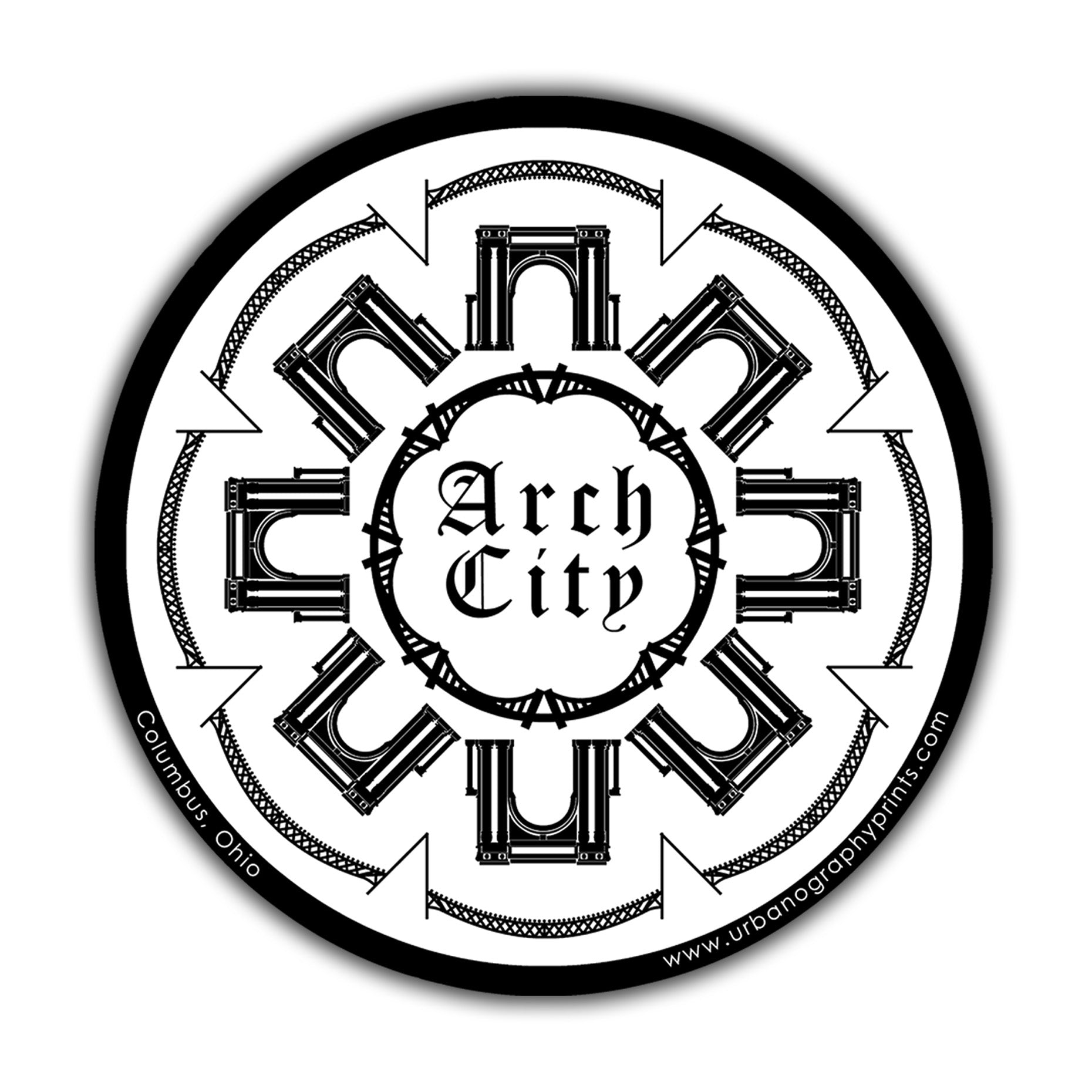 Arch City Sticker