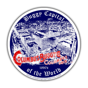 Buggy Capital of the World Sticker