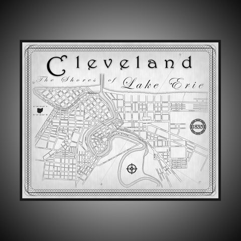 Cleveland Map (1835)