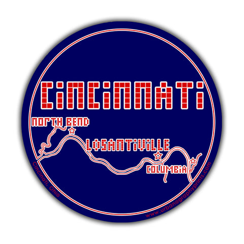Losantiville Sticker