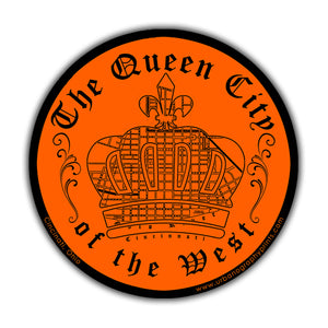 Queen City of the West Sticker