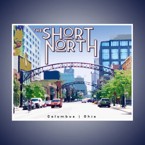Short North Print
