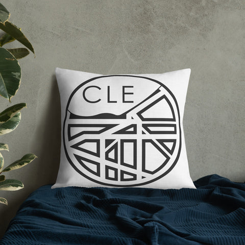 Cleveland (1835) Map Pillow