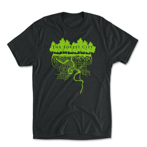 The Forest City (Green/Black)