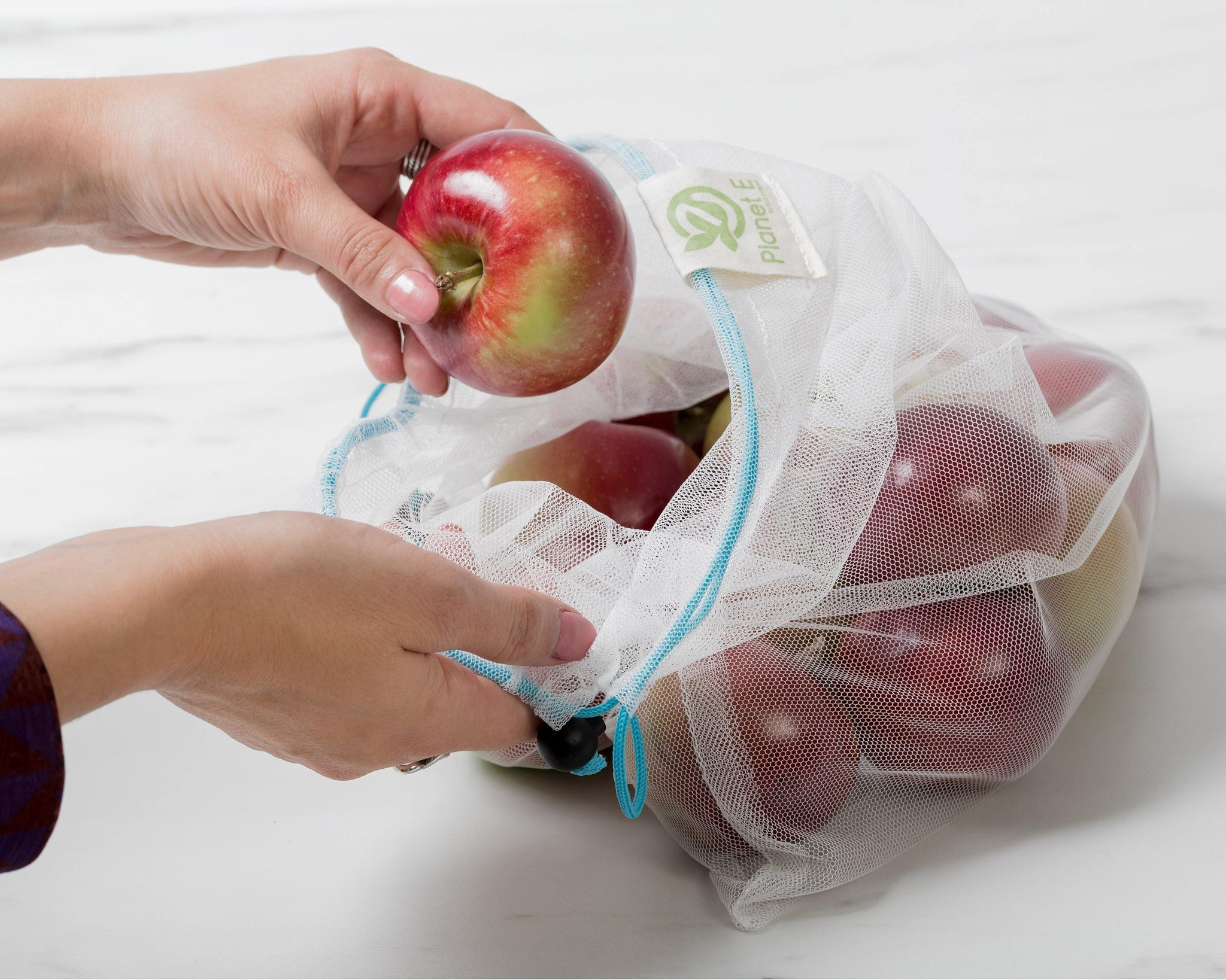 MESH PRODUCE BAGS | SET OF 12 | MULTI.