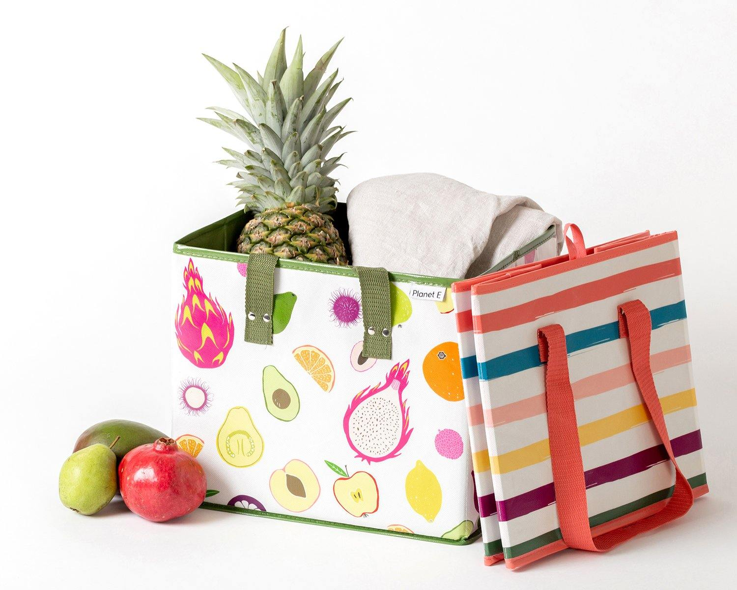 FRUITS AND STRIPES | SET OF 2 | FRUITS & MULTI.