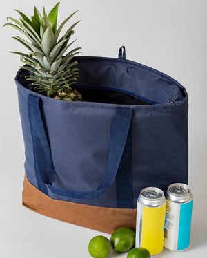 THERMAL TOTE BAG | NAVY.