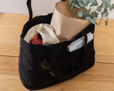 EVERYDAY CANVAS TOTE WITH POCKETS