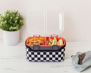 FOOD CUBE™ 3L ALL-IN-ONE LUNCH BOX | Check Mate