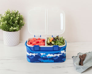 FOOD CUBE™ 3L ALL-IN-ONE LUNCH BOX | Blue Camo
