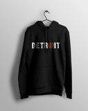 Detroit Horizontal - Hooded Sweatshirt